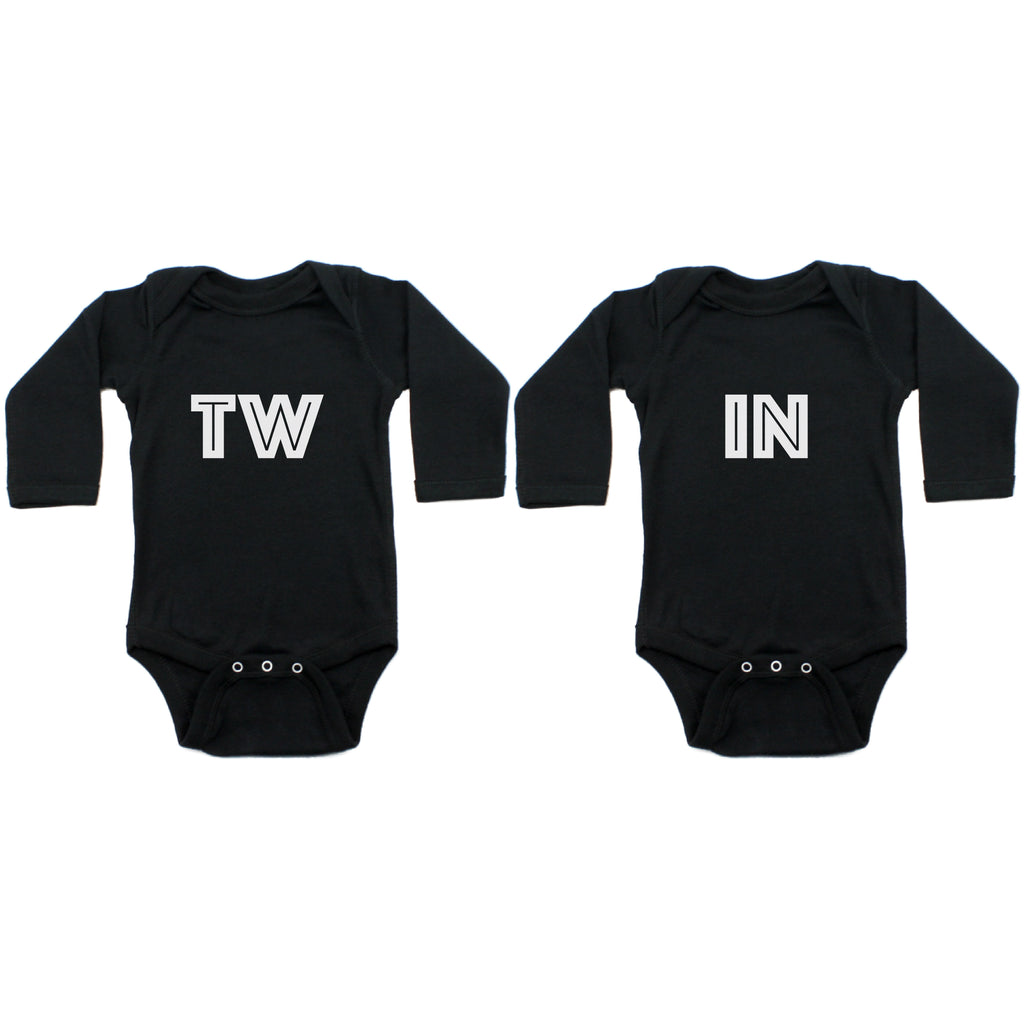 Twin Set TW IN Sleeve Infant Bodysuit