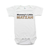 Passover Mommy's Little Matzah Short Sleeve Infant Bodysuit