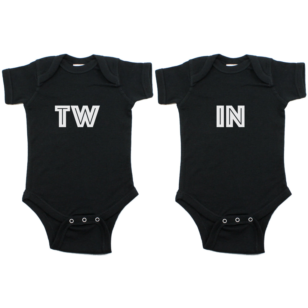 Twin Set TW IN Short Sleeve Infant Bodysuit