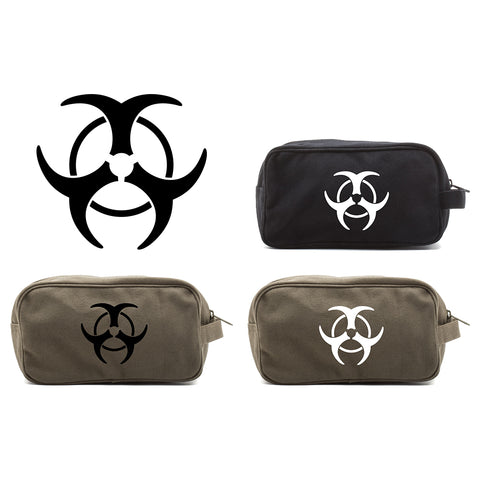Biohazzard Warning Symbol Mini Baby Changing Bag Travel Diapering Essentials Kit