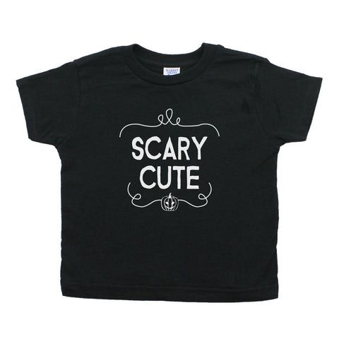 Scary Cute Halloween Toddler Short Sleeve T-Shirt