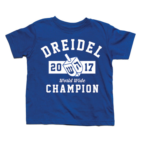 Hanukkah Dreidel Champion 2016 Toddler Cotton T-Shirt