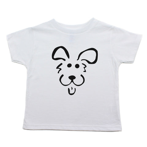 Bow Wow Puppy Toddler Short Sleeve T-Shirt