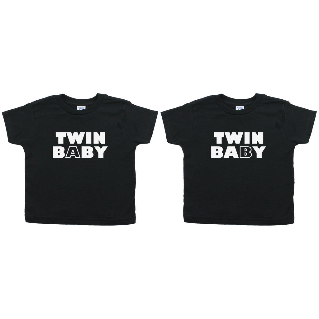 Twin Set Twin Baby Toddler Short Sleeve T-Shirt