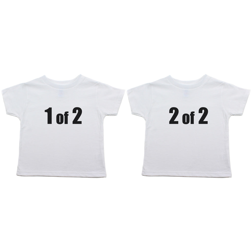 Twin Set 1 of 2, 2 of 2 Toddler Short Sleeve T-Shirt