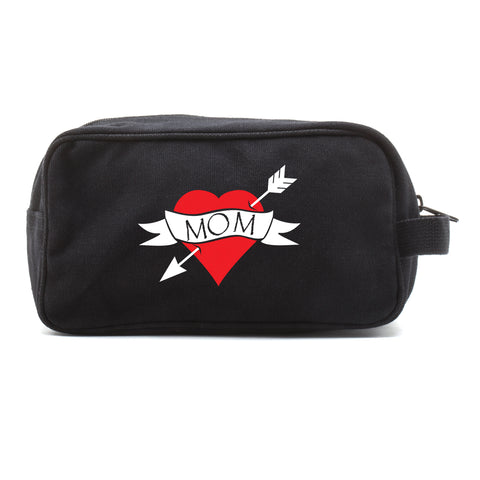 Heart Mom Tattoo Mini Baby Changing Bag Travel Diapering Essentials Kit