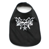 White Guitar Hero Unisex Baby Soft Cotton Bib