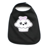 Girl Punk Cupcake Baby Soft Cotton Bib