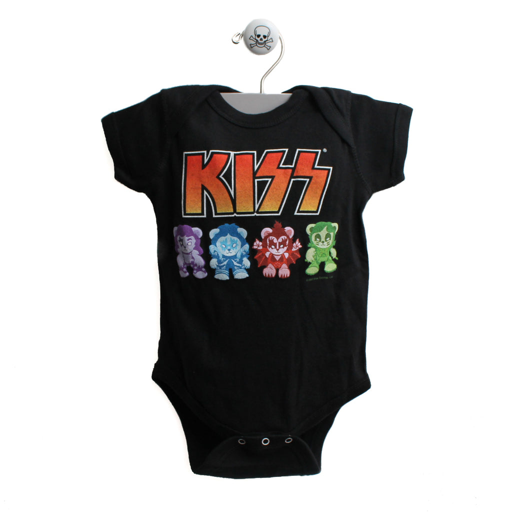 KISS Band Baby Bodysuit