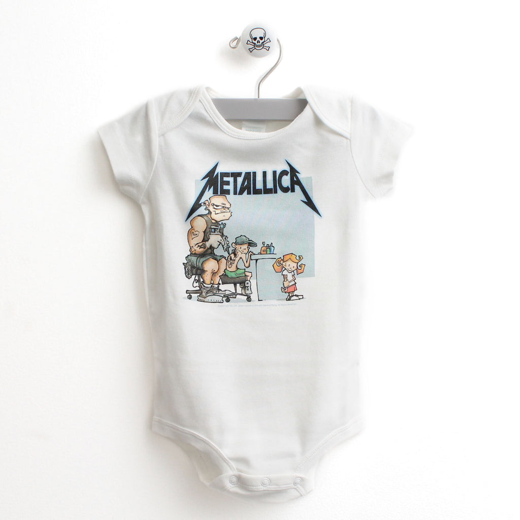 Metallica Tattoo Baby Bodysuit, 18 Months