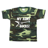 My Aunt Rocks Toddler Short Sleeve T-Shirt