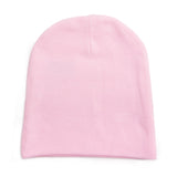 Custom Add Your Name Infant Baby 100% Cotton Knit Beanie Cap Hat