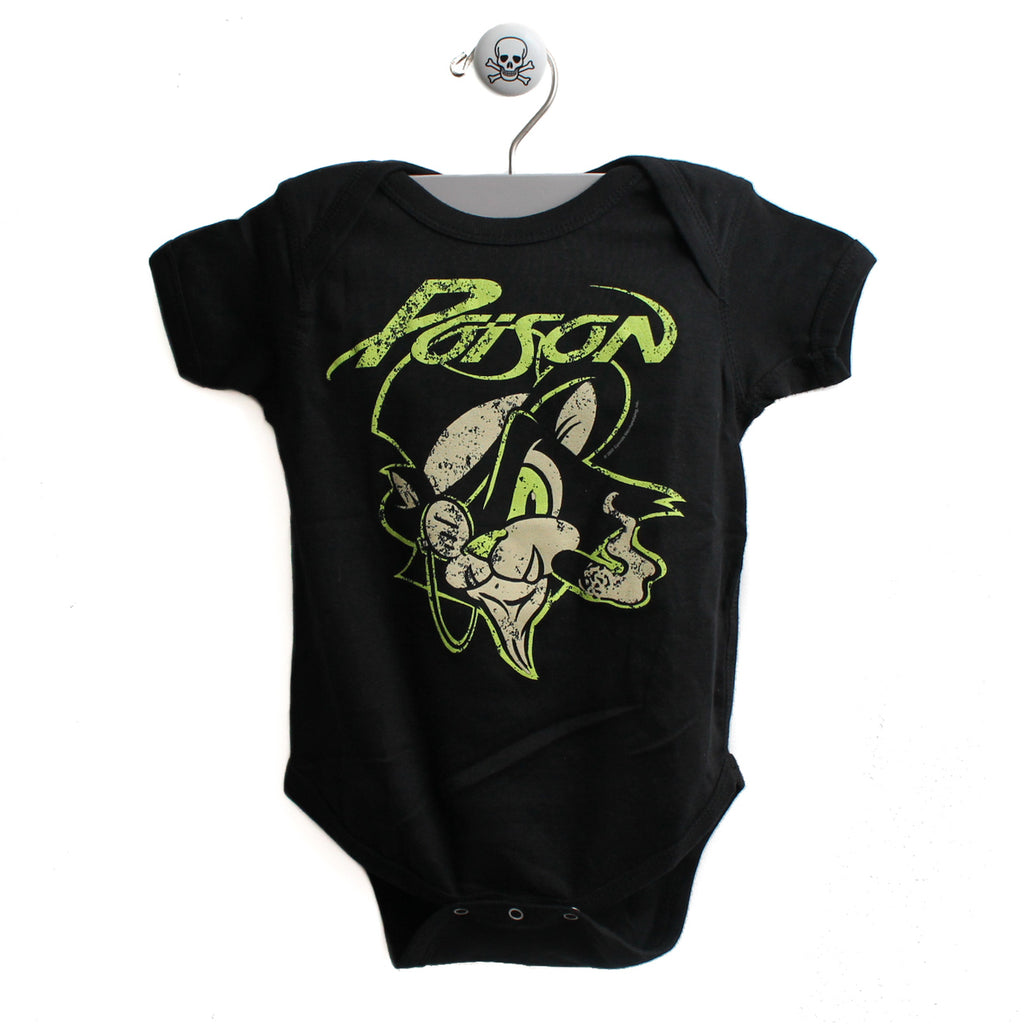 Poison Cat Evil Eye Baby Bodysuit