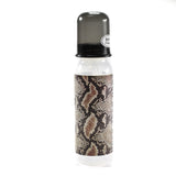 Rock Star Baby Snake Animal Print 8 oz Bottle  Size by Tico Torres