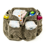 Heavyweight Messenger Canvas Carry-All Baby Diaper Bag