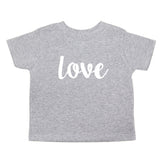 Christmas Peace Love Joy Toddler Short Sleeve T-Shirts