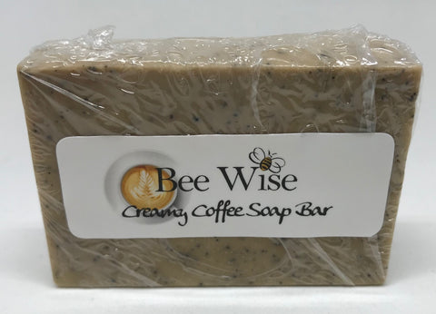 Creamy Coffee Scrub Soap Bar 3 oz
