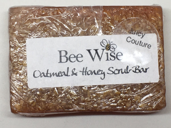 Oatmeal and Honey Scrub Soap Bars 3oz, Original and Fragrance