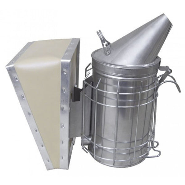 4 x 7 Stainless Steel Smoker w/shield