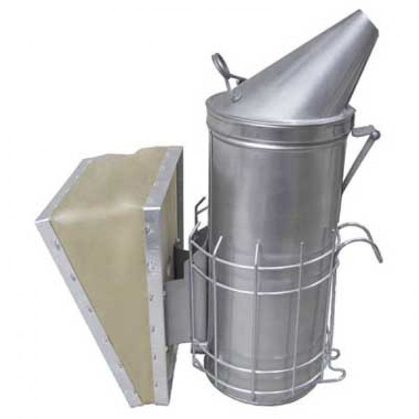 4 x 10 Stainless Steel Smoker w/shield