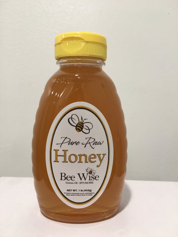 Honey - 1 lb Squeeze Bottle