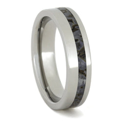 dinosaur bone wedding band thin titanium ring - Dinosaur Bone Wedding Ring