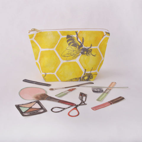 Make Up Bag - Bee