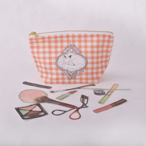 Make Up Bag - Fox