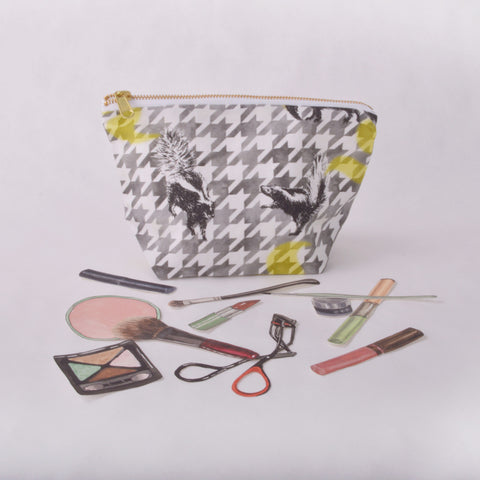 Make Up Bag - Skunk