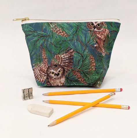 Make Up Bag - Owl