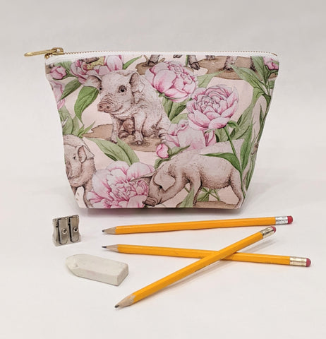 Make Up Bag - Piggy and Peony