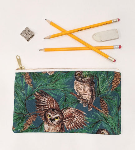 Pencil Case - Owl