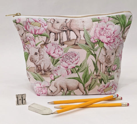Toiletry Pouch - Piggy and Peony