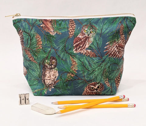 Toiletry Pouch - Owl