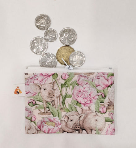 Coin Purse - Piggy and Peony