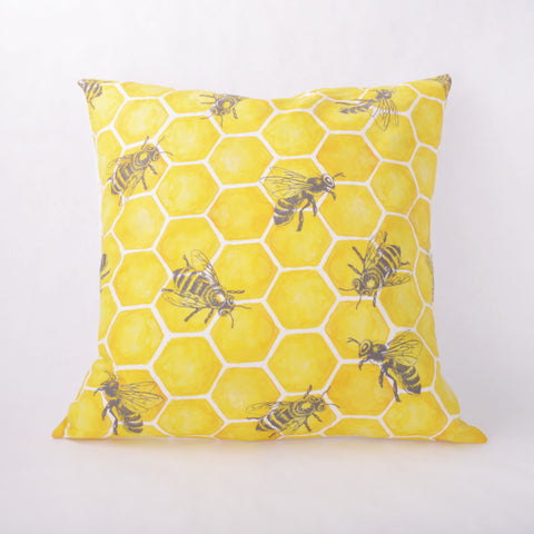 Throw Pillow - Bee