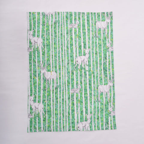 Tea Towel - Deer