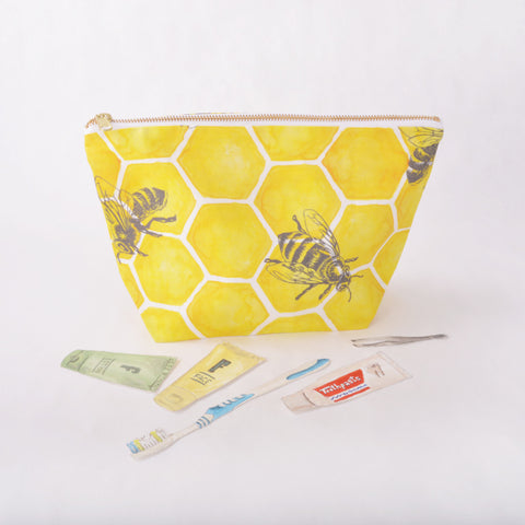 Toiletry Pouch - Bee