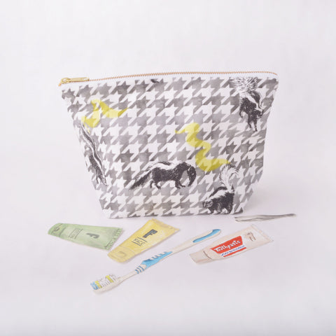 Toiletry Pouch - Skunk