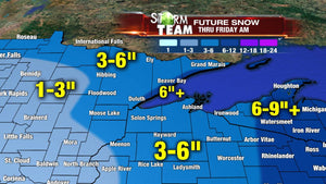 Snow in the Forecast! Exciting for all winter activities & recreation in Hayward, WI