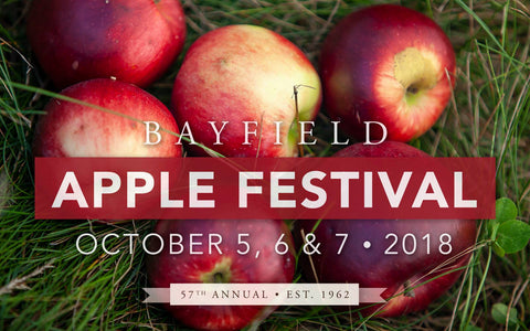Bayfield Apple Festival in Bayfield, Wisconsin