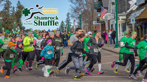 2018 Shamrock Shuffle - Outdoor Ventures - presented by Johnson Bank