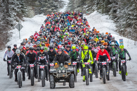 Fat Bike Birkie Race - Cable, Wisconsin