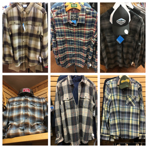 Flannels, insulated flannels are the top picks for men and women