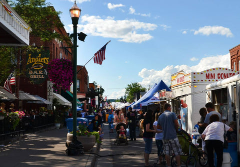 Musky Festival on Main Street Downtown Hayward WI - Visit Outdoor Ventures