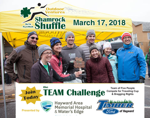 2018 Shamrock Shuffle Team Challenge - Sign up today!