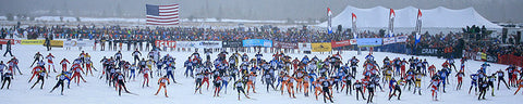 American Birkebeiner Cross Country Ski Race from Cable to Hayward, WI