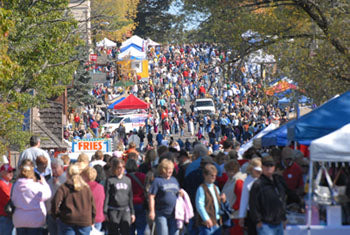 Stone Lake Cranberry Festival in Stone Lake, Wisconsin