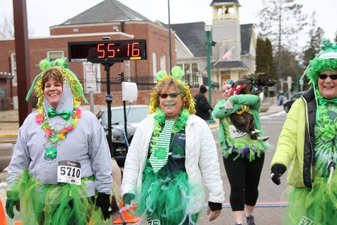 Shamrock Shuffle Costume Contest for adults and kids