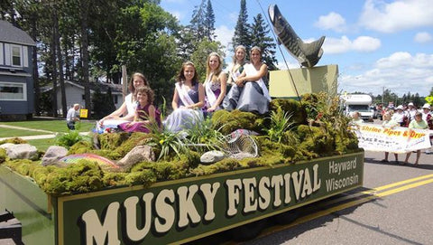 Musky Festival Annual Parade -June - Hayward Wisconsin